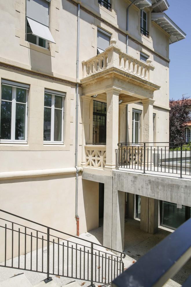 ARCHITECTURE - Rénovation de la villa qui acceuille le BTS photo